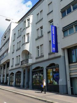 Bild der Zentrale in Stuttgart